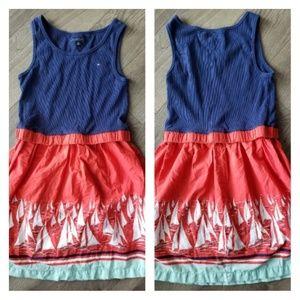 Tommy Hilfiger girls nautical dress sizeXL/16